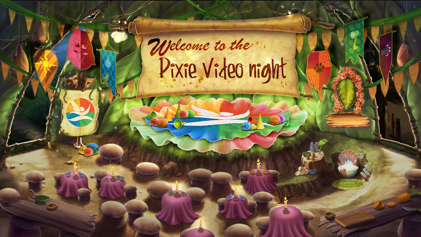 Pixie video party