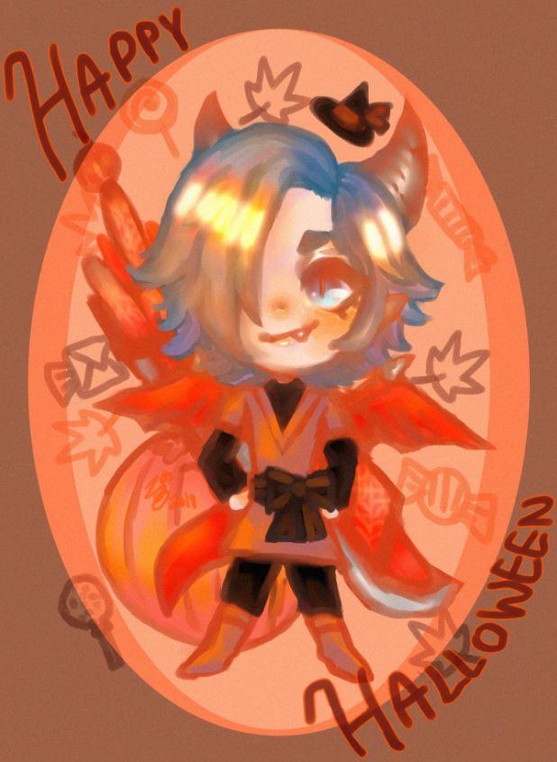 kaiser chibi halloween.JPG