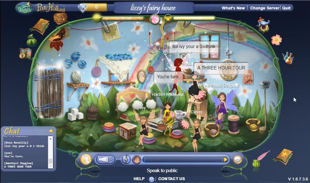 Lizzys Fairy House